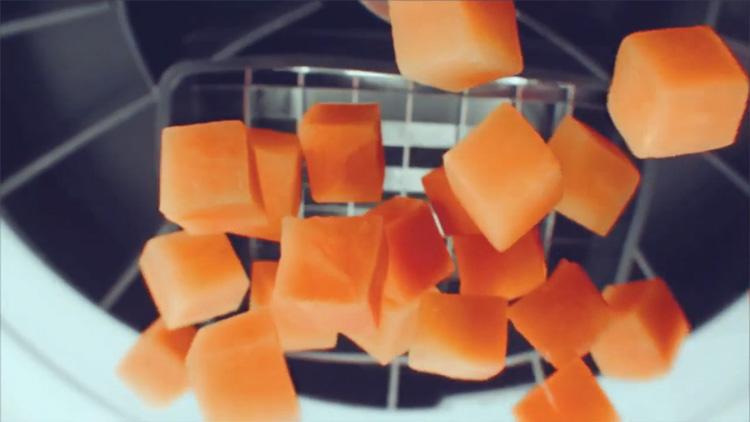 Нарезка кубиками
