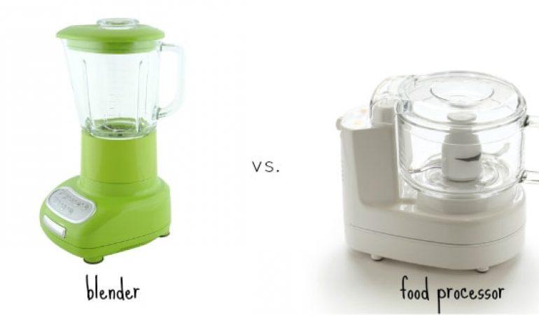 Блендер или кухонный комбайн, что лучше?
