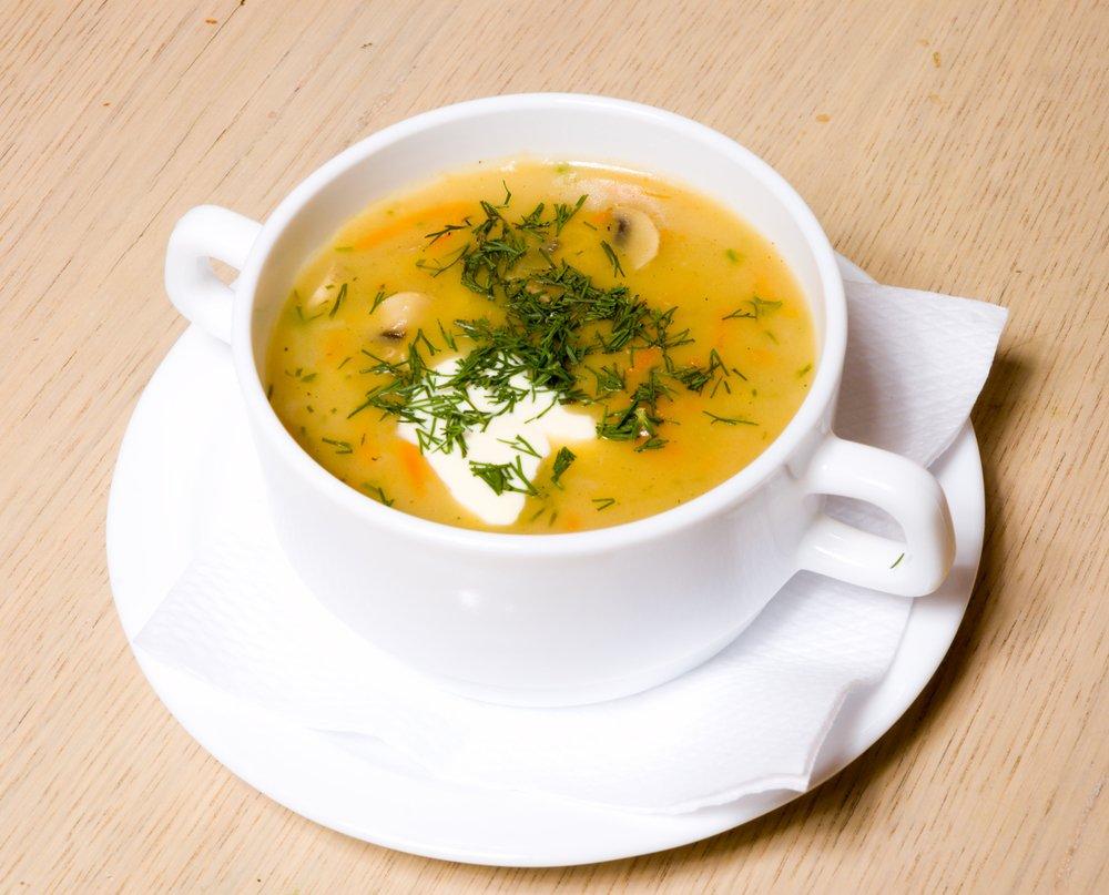 Крем суп для похудения в блендере