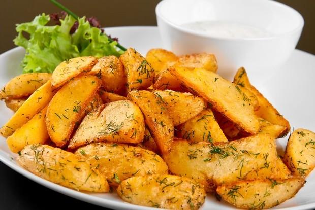 Картошка по-деревенски или картофель Айдахо