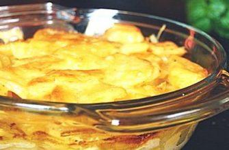 Картофельная запеканка в аэрогриле