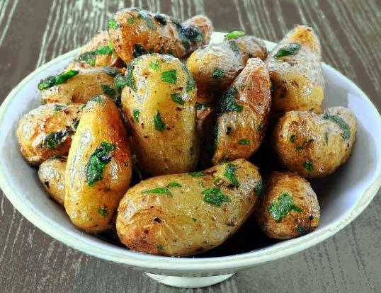 Запечённая в мундире картошка