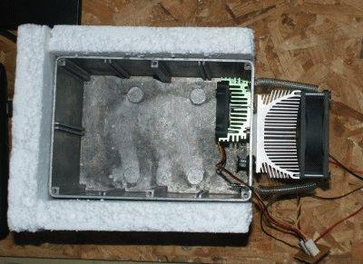 Холодильник на элементах пельтье