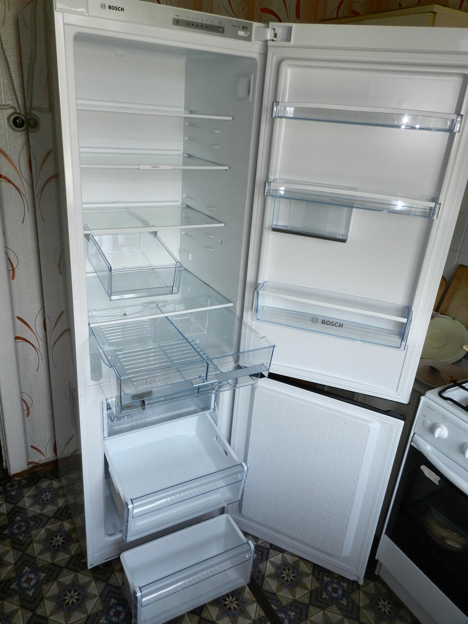 Новый холодильник, первое включение