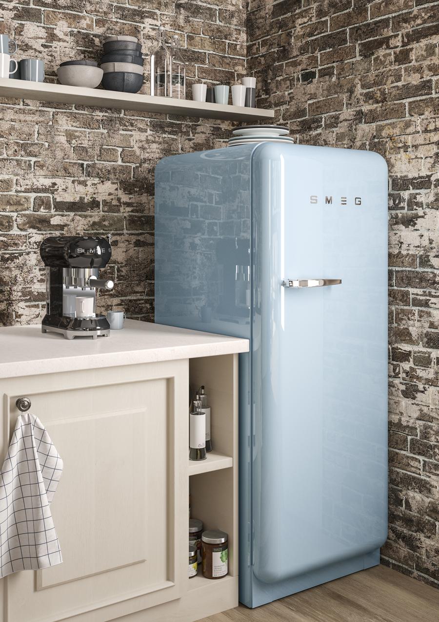 Популярные холодильники в стиле ретро