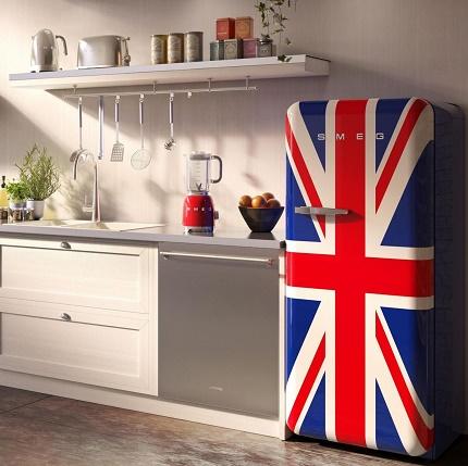 Холодильник в стиле ретро