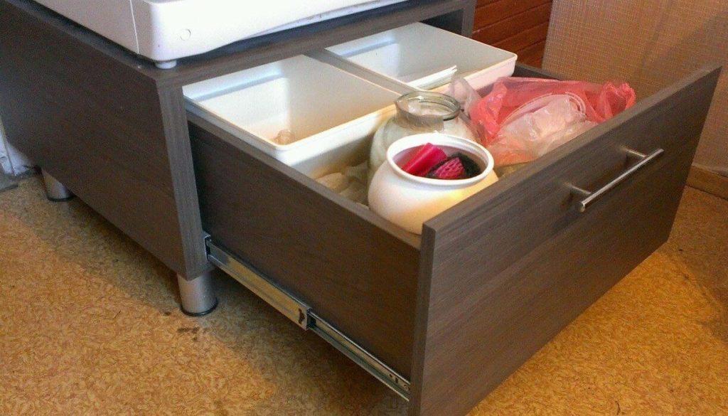 Тумба под холодильник