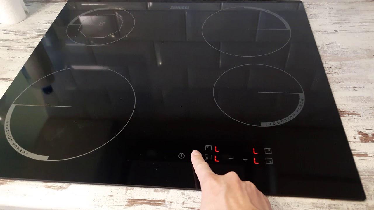 Как включить индукционную плиту