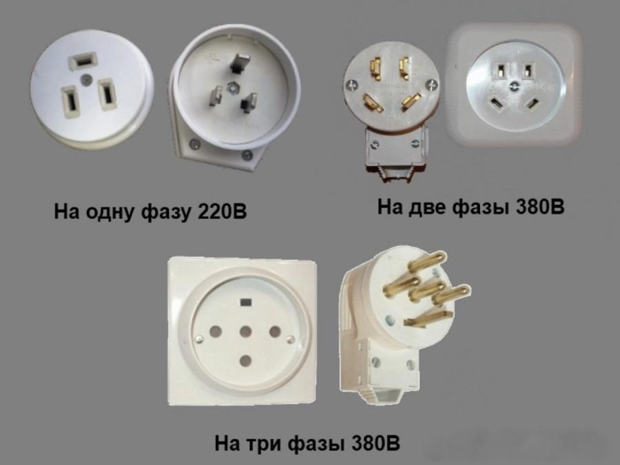 Виды силовых точек для электроплиты