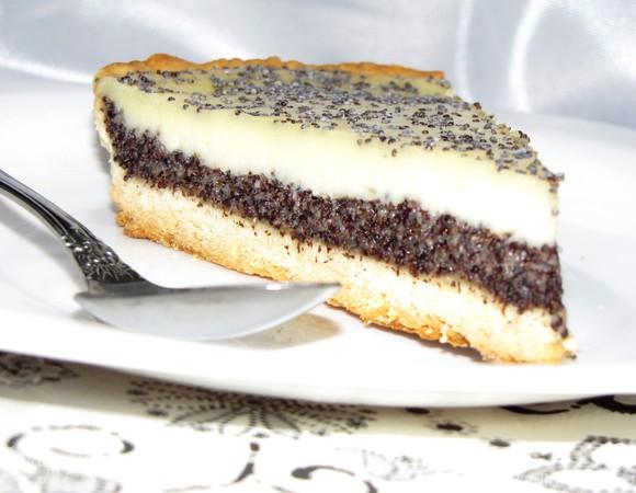 Пирог на сметане с маком