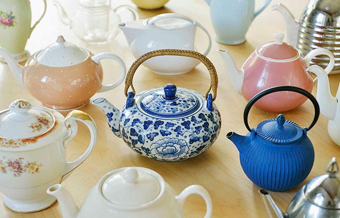 Керамичный заварочный чайник