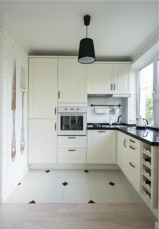 Угловая кухня Г-образная
