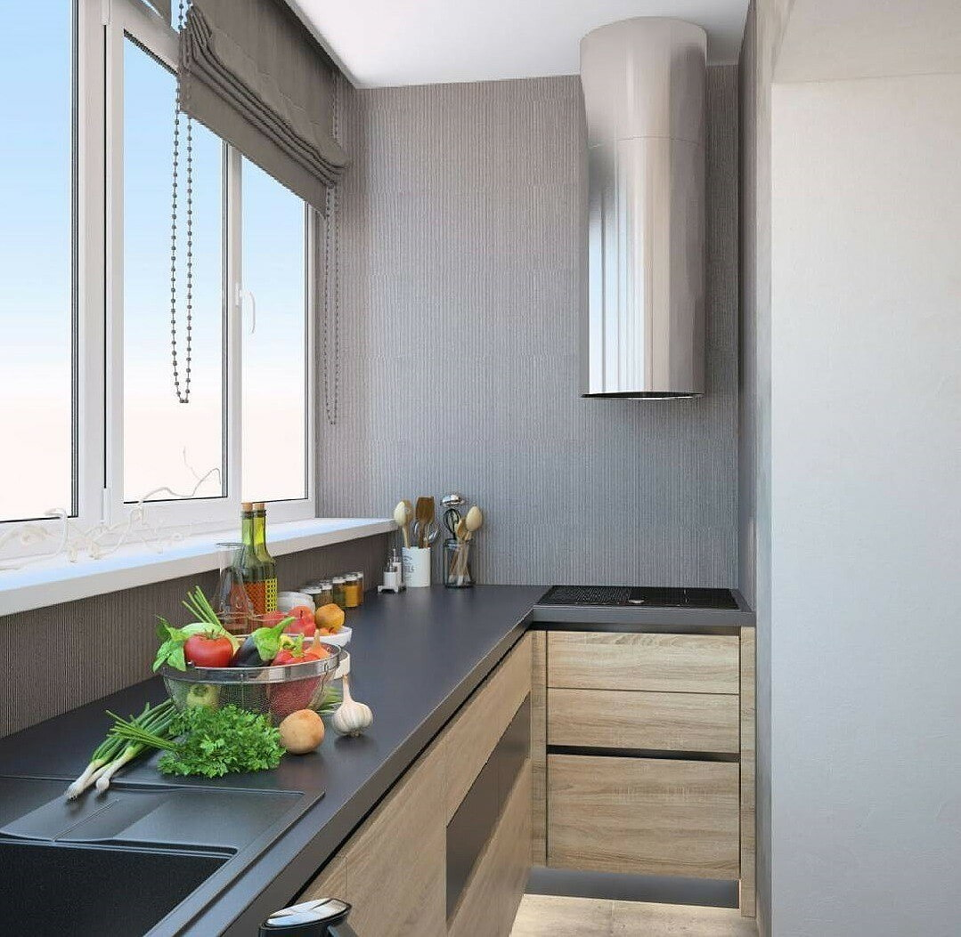 Кухня-балкон