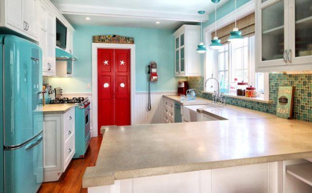 Кухня в стилях эклектика и фьюжн