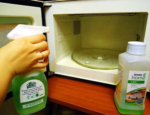 Средство для чистки микроволновок